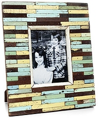patchwork wood frame
