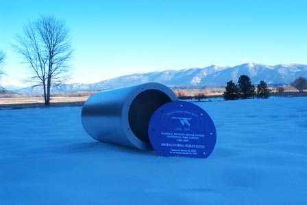 Kootenai National Wildlife Refuge time capsule
